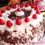 Eggless Classic Black Forest Cake