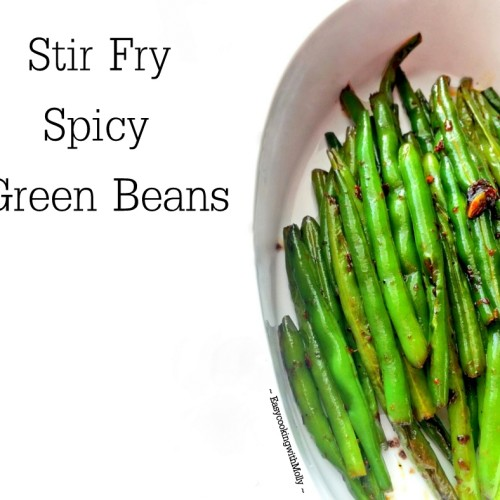 Stir Fry Spicy Green Beans