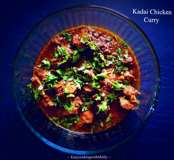 Kadai Chicken Curry   One Pot Recipe