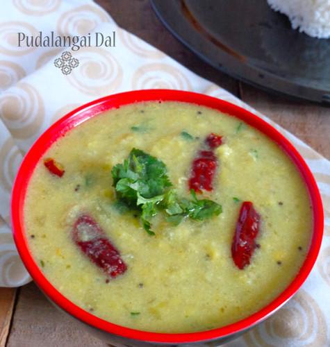 Pudalangai dal  Dal Recipes  Pudalangai kootu