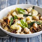 Mediterranean Quinoa Risotto