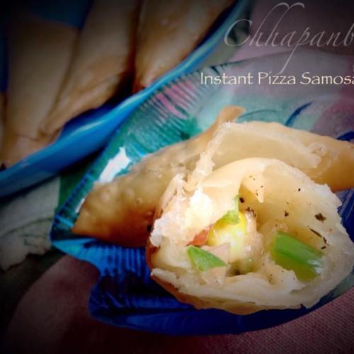 Instant Pizza Samosa