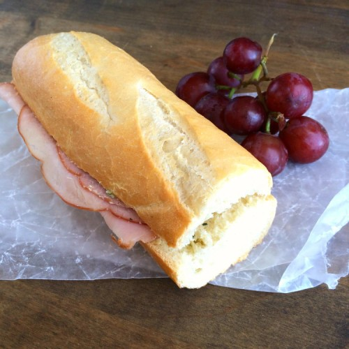 French Ham   Butter Sandwich