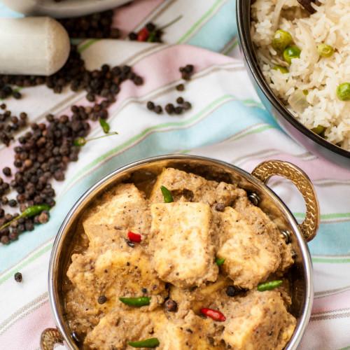 Paneer Kalimirchi  Paneer in Peppercorn Sauce
