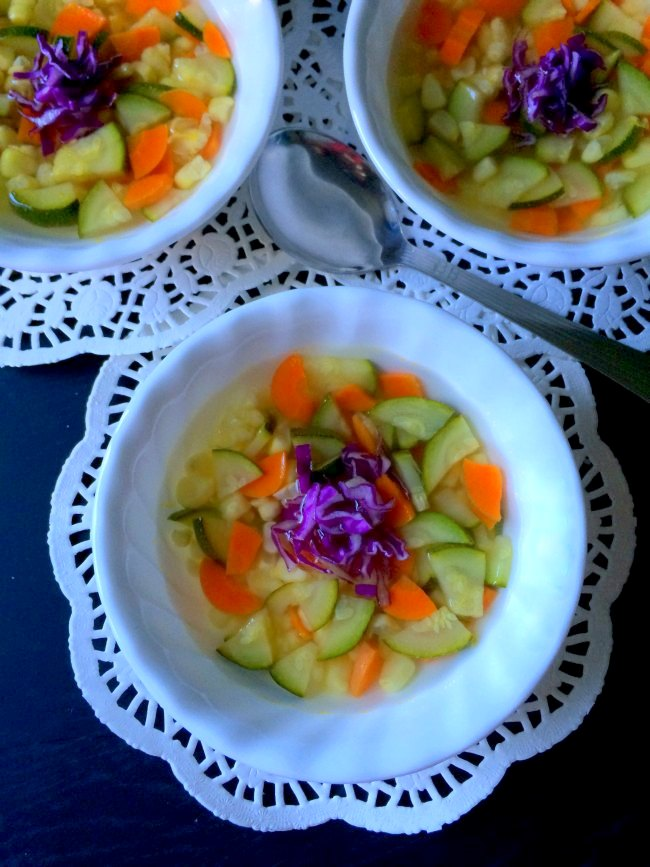 Winter Vegetable Soup  Healthy   Glutenfree
