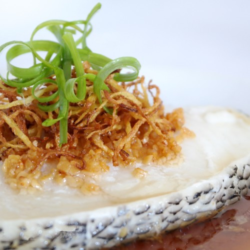 Fragrant Steamed Cod Fish