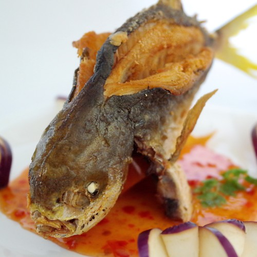 PurelyFresh Thai Style Deep Fried Golden Pomfret