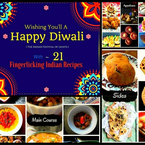 21 Fingerlicking Indian Recipes for Diwali 2015