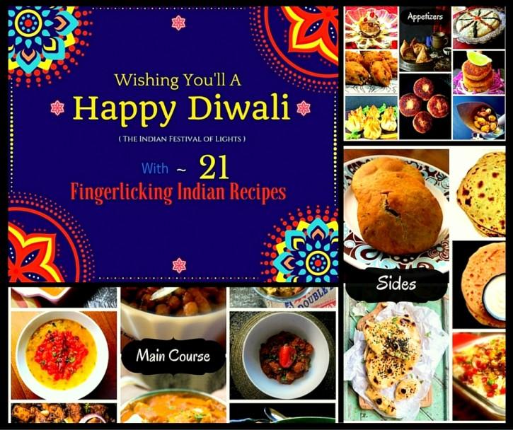 21 Fingerlicking Indian Recipes for Diwali 2015