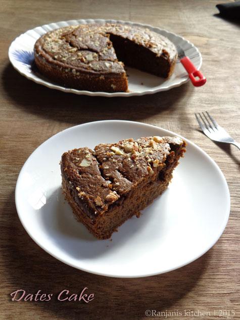 Dates Cake recipe