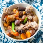 Homemade One pot Chicken Stew