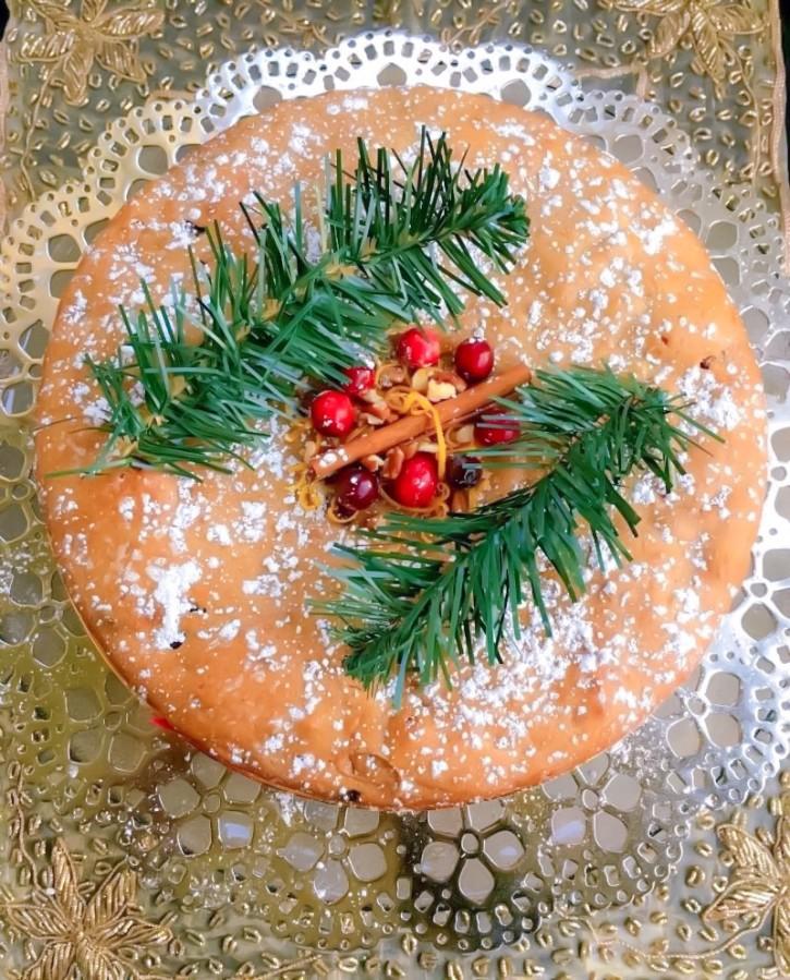 Spiced Fruit Cake  Holiday Fruitcake