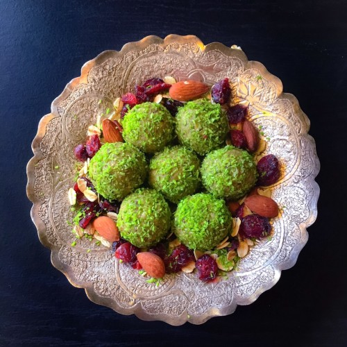 Matcha Oats Bliss Balls  5 Minutes Recipe