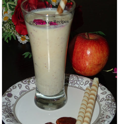 Apple and Dates Milkshake