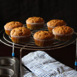 Eggless Apple Muffins using Jaggery and wheat flour