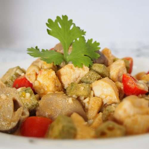 Appetizing Stir Fried Tom Yum Chicken