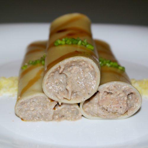 Twin Granoro Cannelloni with Fauchon Goose Foie Gras