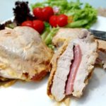 Baked Cheesy Chicken Fillets with Ham  Finger Lickin  Good