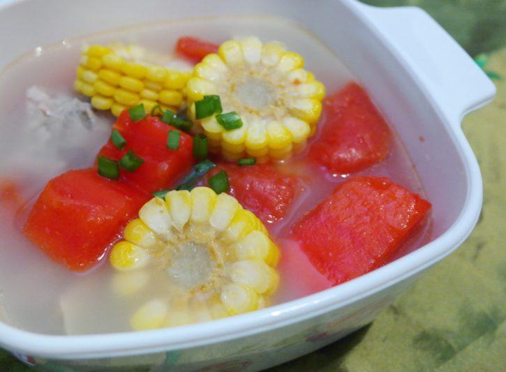 Tasty Papaya Pork Rib Soup
