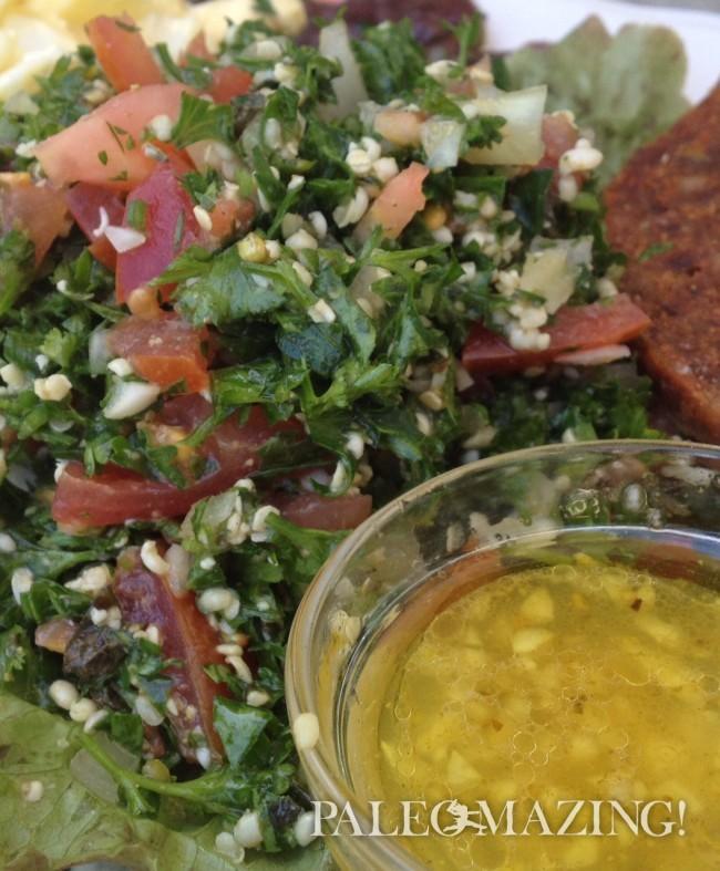 Paleo Gluten Free Tabbouleh