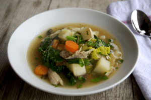 How to Make Your Chicken Soup a Flu Fighting Machine 