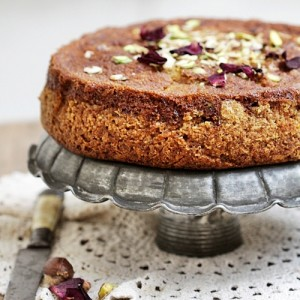 Armenian Nutmeg Walnut Cake