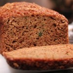 homemade zucchini bread