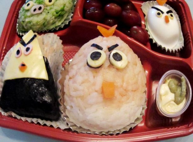 Angry Birds Onigiri Lunch Box