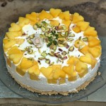 Upside Down Mango Quark Cheesecake Pie  fg.jpg