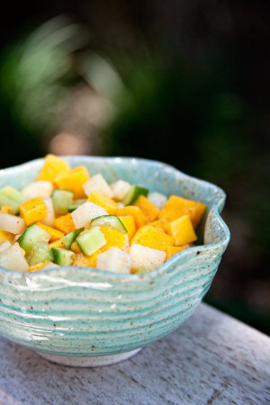 Mango Jicama Salad.