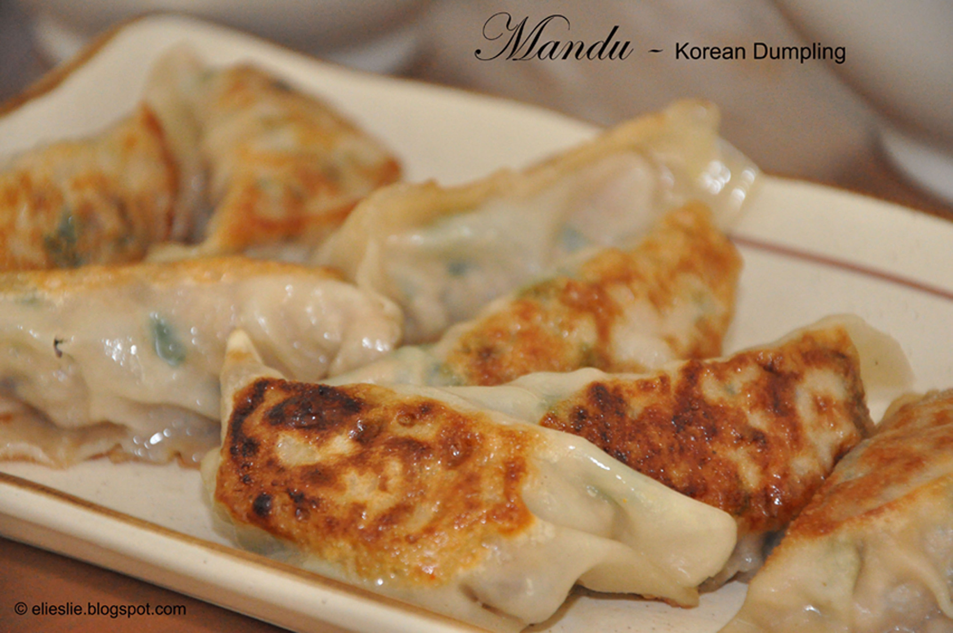 Mandu (Korean Dumplings) Recipe — Dishmaps