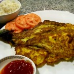 Vegan Filipino Eggplant Omelette