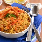 Prawn Biryani
