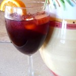 Sangria with Fresh Fruit