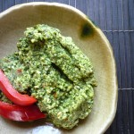 A great dip or spread: Spicy Cilantro Pesto