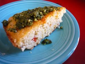 cornbread-w-pesto