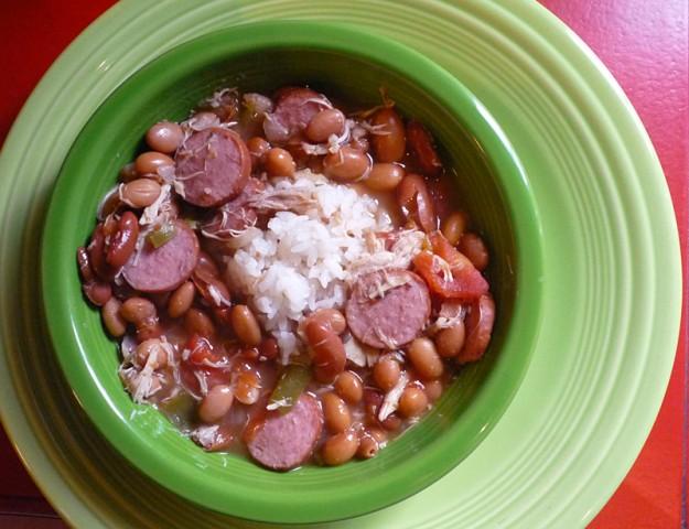 Pinto Bean and Sausage Soup