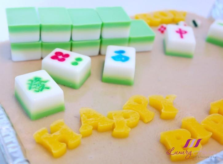 Mahjong Agar Agar Cake For Potluck Party Anyone Game Foodwhirl