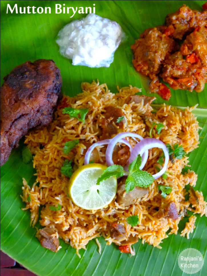 how to make mutton biryani in tamil language